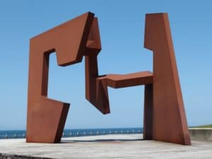 Iconic Sculpture in San Sebastián, Spain